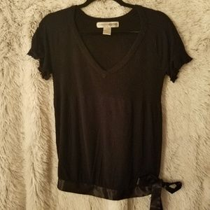 Necessary Objects women's black small shirt (A98)